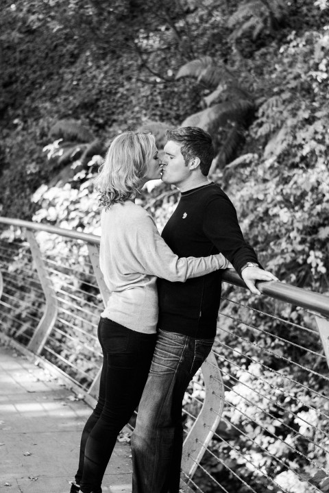 Sam and Amy's engagement photo shoot New Mills