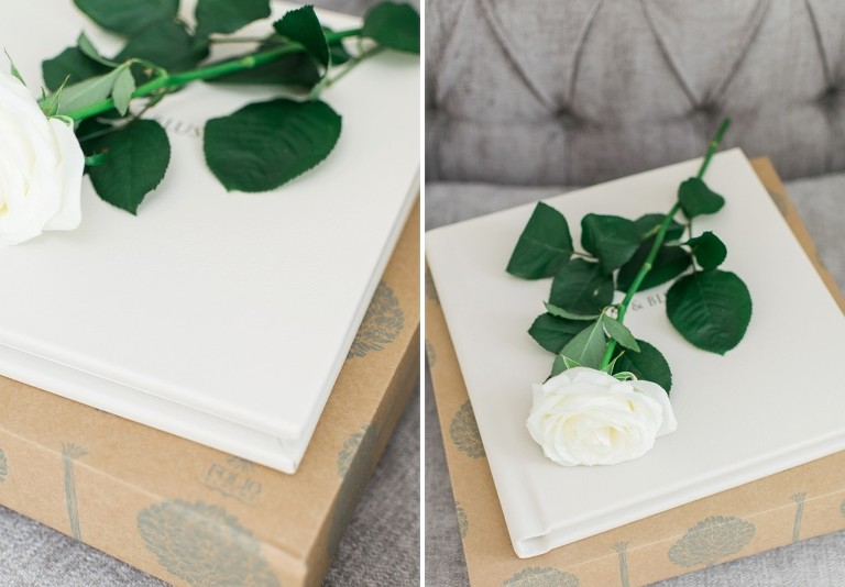 fine art wedding albums from Folio