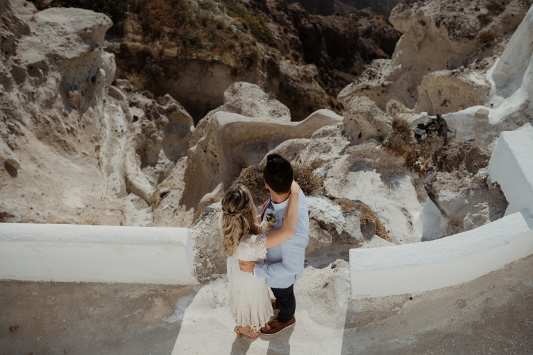 villa irini Santorini wedding